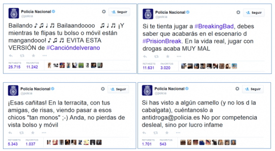 Community Manager Policia